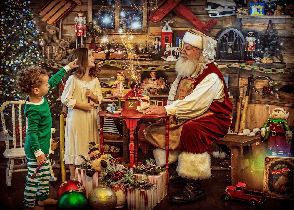 2020 Exclusive Children's Christmas Portraits - © Darren Bowen Photography