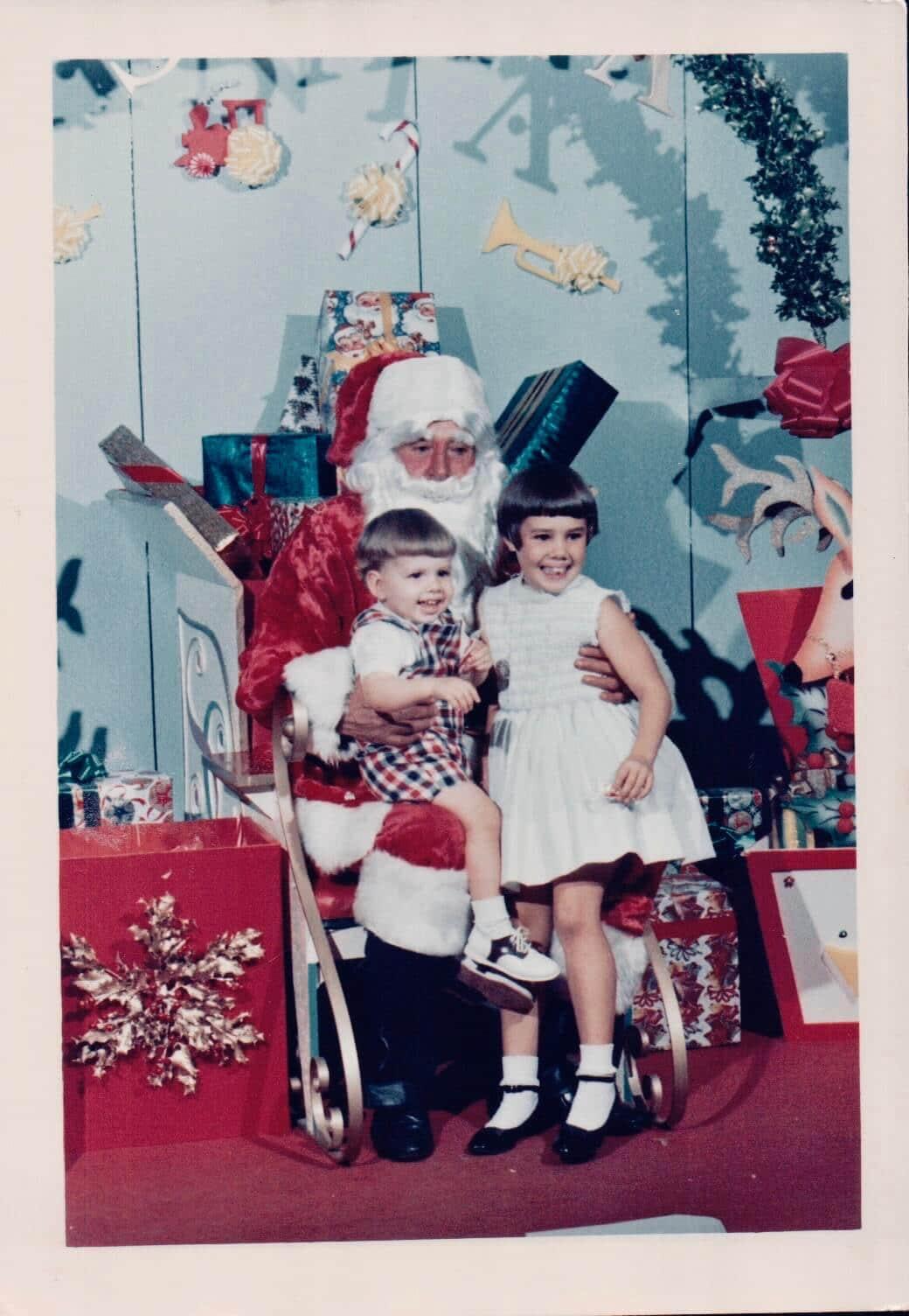 Christmas Santa, Honolulu, Hawaii. (1967)