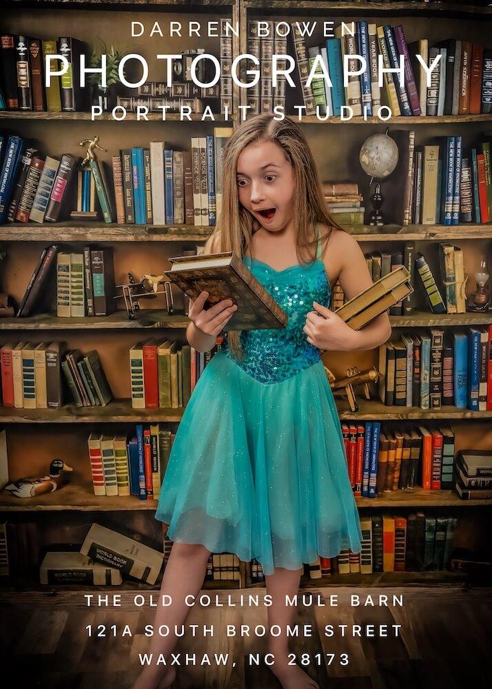 Child Portraiture by Darren Bowen Photography