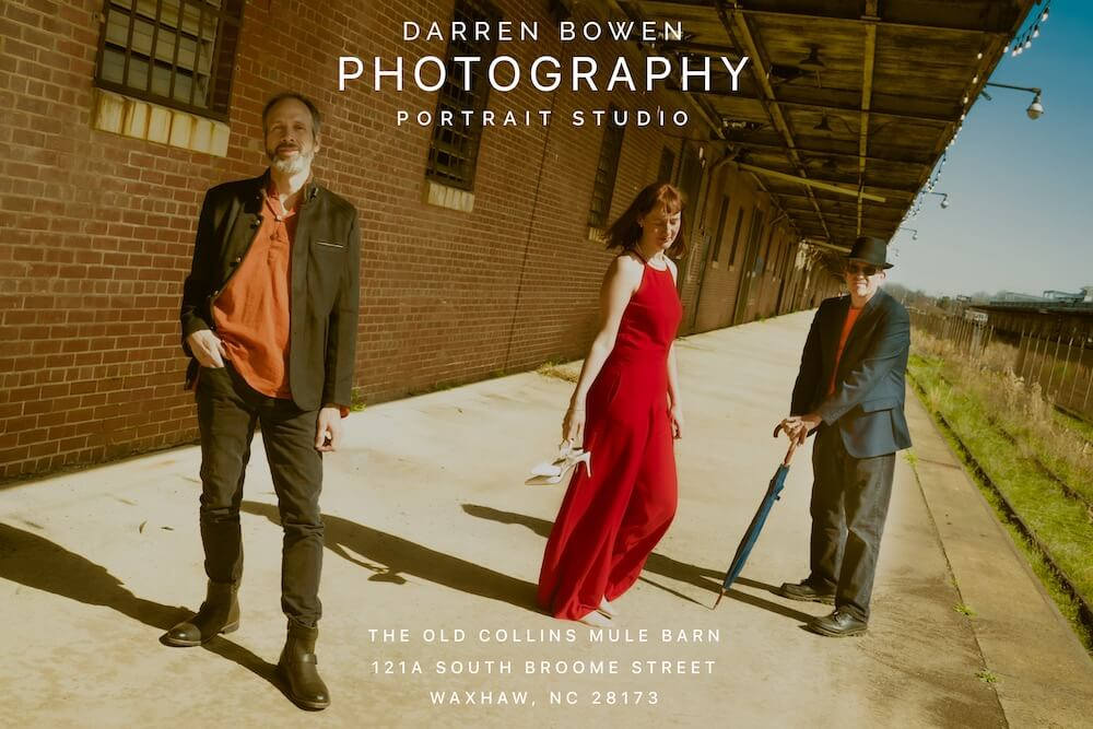 Musician and Band Portraiture by Darren Bowen Photography