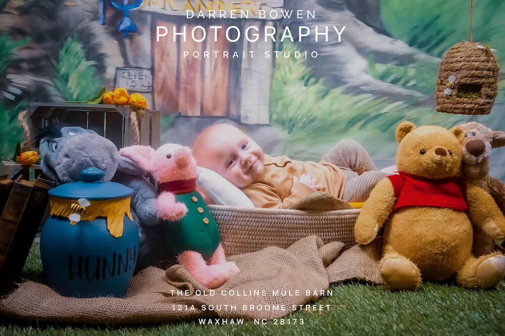 Newborn Baby Portraiture by Darren Bowen Photography