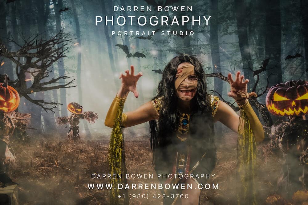 Halloween Portraiture by Darren Bowen Photography